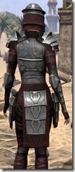 Centurion Dress Armor - Female Close Back