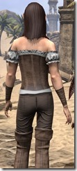 Corseted Riding Outfit - Female Close Back