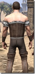 Corseted Riding Outfit - Male Close Back