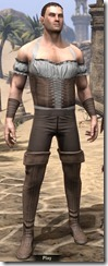 Corseted Riding Outfit - Male Front