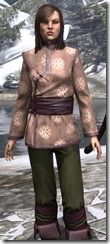 Eternity Tunic with Pants Dyed Close Front