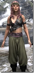 Pirate First Mate's Outfit Dyed Close Front