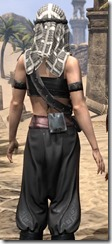 Pirate First Mate's Outfit - Female Close Back