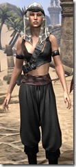 Pirate First Mate's Outfit - Female Close Front