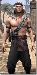 Pirate First Mate's Outfit - Male Close Front
