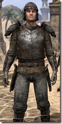 Soul-Shriven Armor Outfit - Male Close Front
