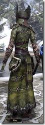 Winterborn Shaman's Costume Dyed Back