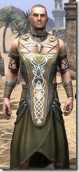 Treethane Ceremonial Dress - Male Close Front