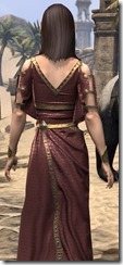 Cyrod Patrician Formal Gown - Female Close Back