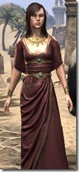 Cyrod Patrician Formal Gown - Female Close Front