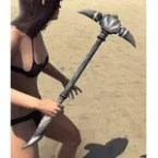 Hollowjack Iron Mace