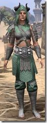 Minotaur Homespun Robe - Female Front