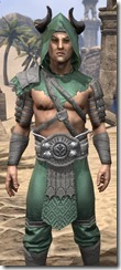 Minotaur Homespun Shirt - Male Close Front