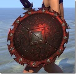 Minotaur Ruby Ash Shield