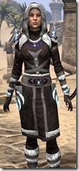 Stahlrim Frostcaster Robe - Female Close Front