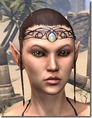 Dominion Topaz Circlet - Female Front
