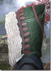 Colovian Filigreed Hood Dyed Side