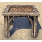 Argonian End Table, Woven