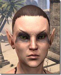 Deep Black Sunken Eyes - Female Front