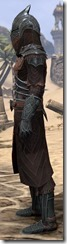 Ebony Ancestor Silk Robe - Male Side