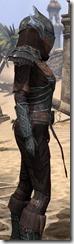 Ebony Ancestor Silk Shirt - Female Close Side