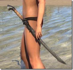 Ebony Iron Sword