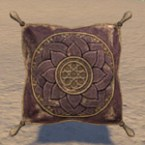Pillow, Faded Purple Floral