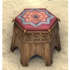 Redguard Footstool, Starry