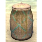 Wood Elf Barrel, Ceramic