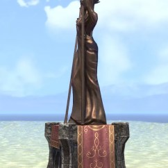 Furnishing A Living Room Table Decorating Ideas Eso Fashion | Spirit Warden Azura Statue (elder Scrolls ...
