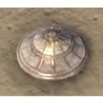 Breton Urn Lid, Striated