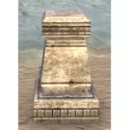 Imperial Pedestal, Chiseled