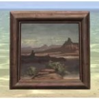 Painting of a Desert, Refined