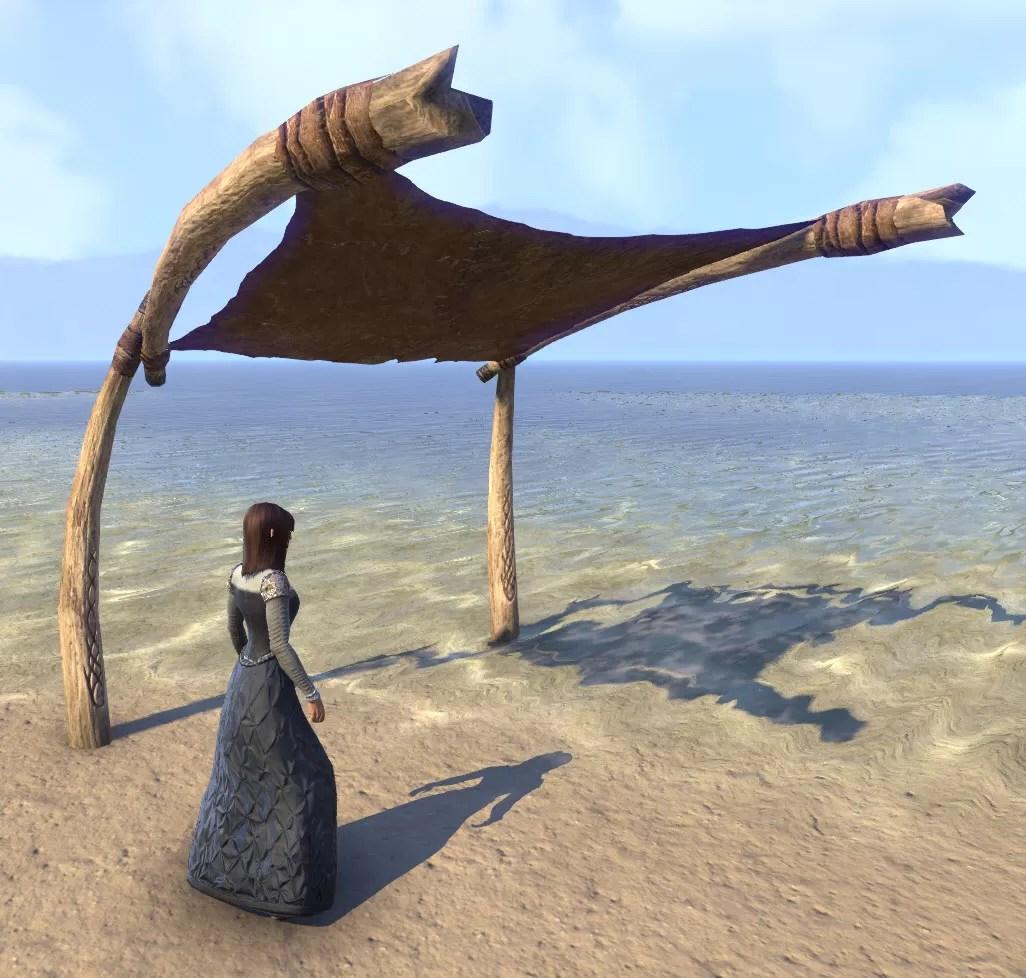 Eso Fashion Wood Elf Awning Leather Elder Scrolls Online