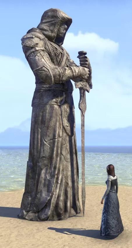 ESO Fashion  Breton Gravewatcher Statue Elder Scrolls