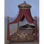 Hew's Bane Bed, Royal