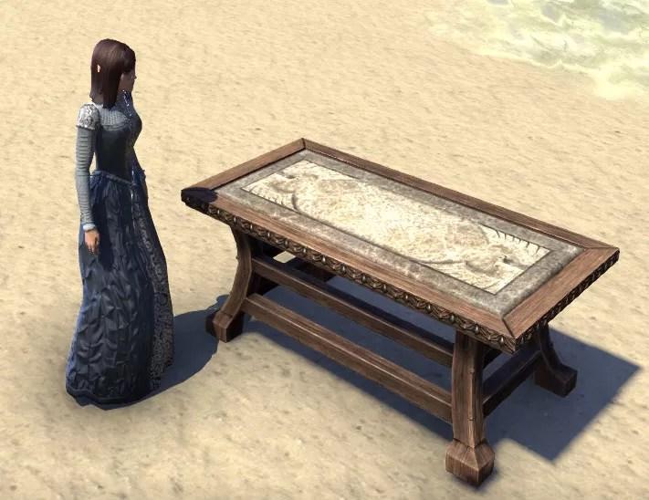 Eso Fashion High Elf Table Winged Formal Elder Scrolls