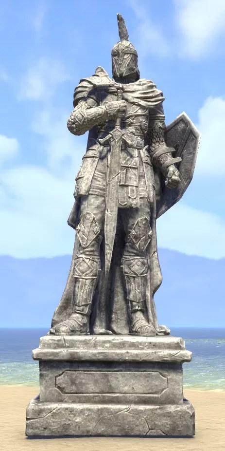 Eso Fashion Imperial Statue Knight Elder Scrolls Online