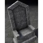 Orcish Throne, Pedestal
