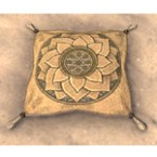 Redguard Pillow, Florid Sands