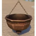 Redguard Pot, Hanging Brushed