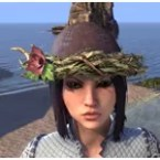 Rootbrim Hat with Flower