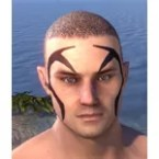 Uricanbeg Antlers Face Tattoo