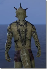 Wyrd Root Tattoos - Argonian Back