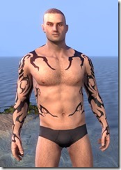 Wyrd Root Tattoos - Male Front