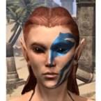 Buoyant Armiger Face Tattoo
