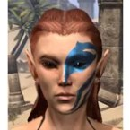Buoyant Armiger Face Tattoo