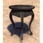 Indoril End Table, Rounded