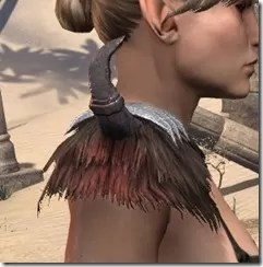 Falkreath Pauldron - Female Right