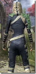 Naryu's Morag Tong Costume Dyed Close Back